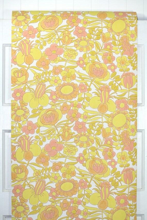 retro wallpaper von der werft 60er jahre vintage tapete. Black Bedroom Furniture Sets. Home Design Ideas
