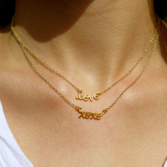 xoxo gold necklace charm necklace gold necklace