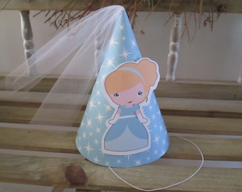 Cinderella Inspired Party Hats Set of 12