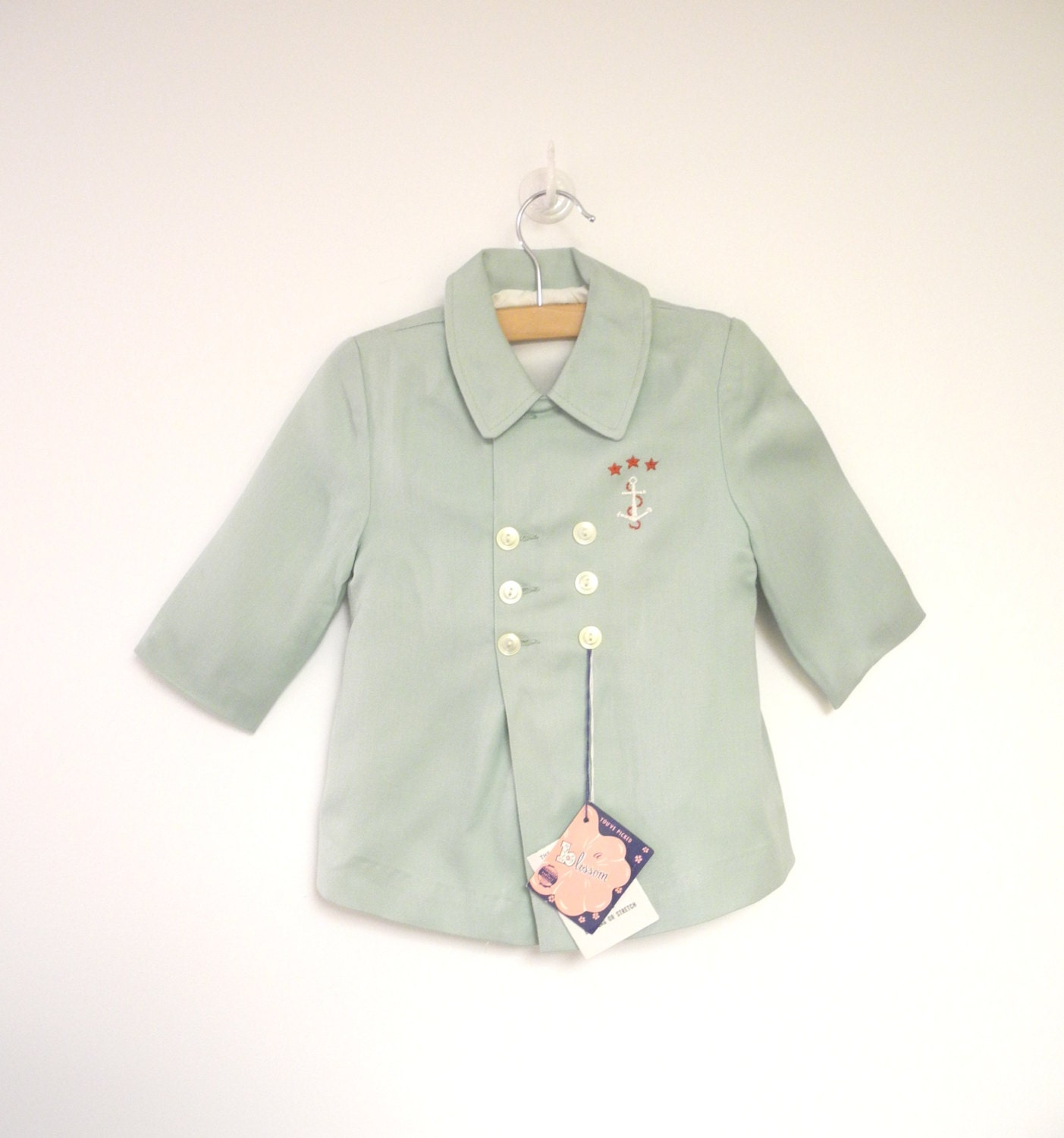 vintage baby clothes 1950 s mint green baby boy coat set