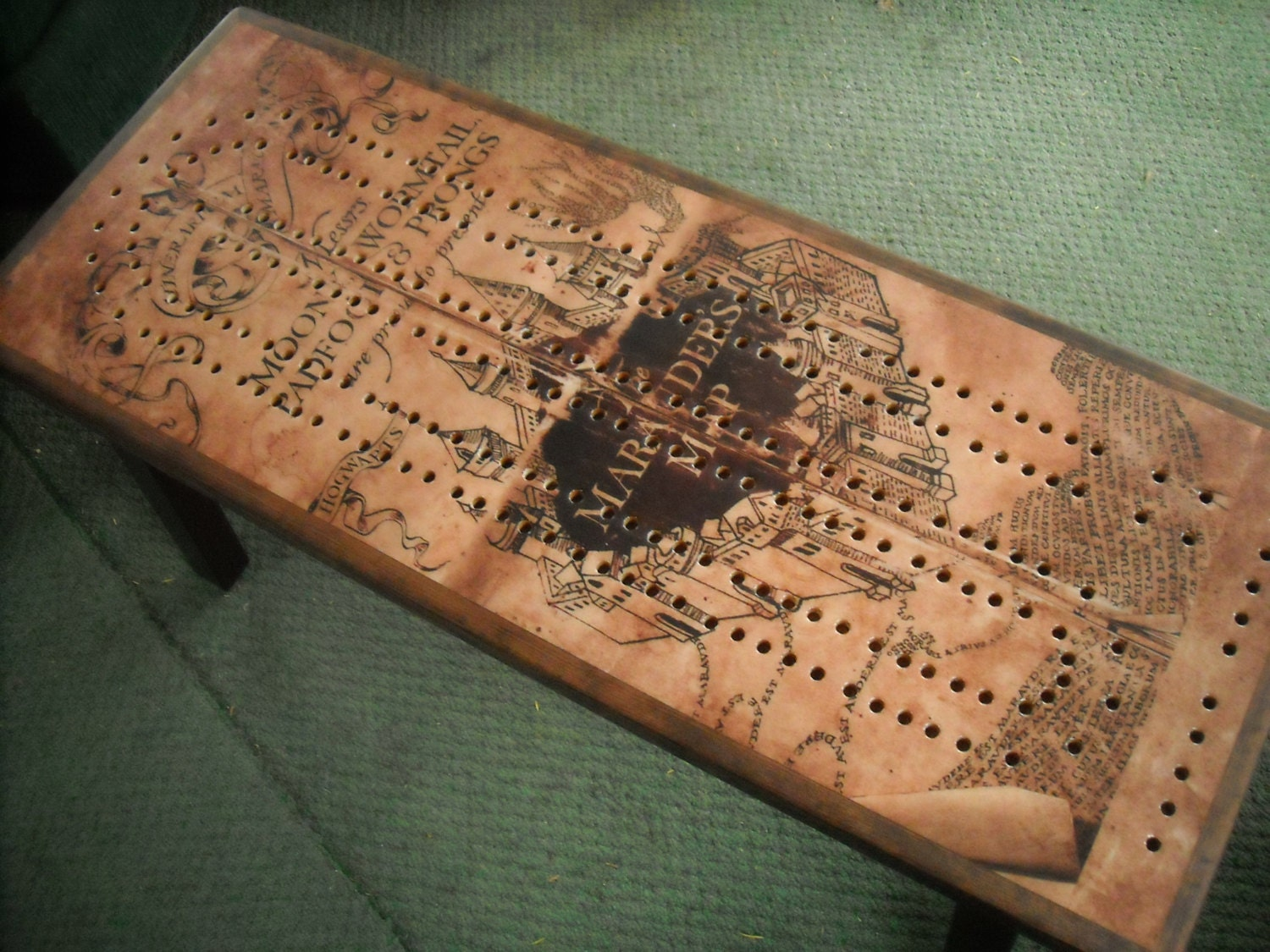 custom made cribbage board coffee table cribbage cribbage