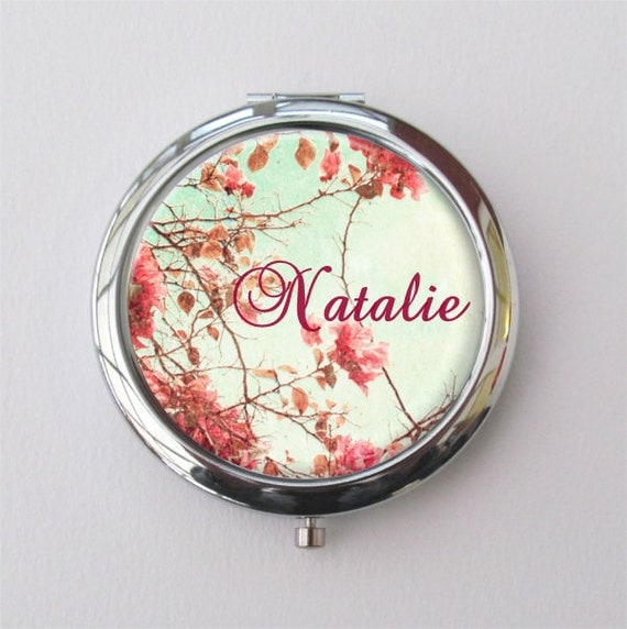 Teen Girl Personalized Gift - Compact Mirror
