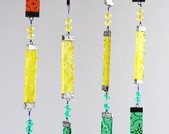 Vintage Glass Hanging
