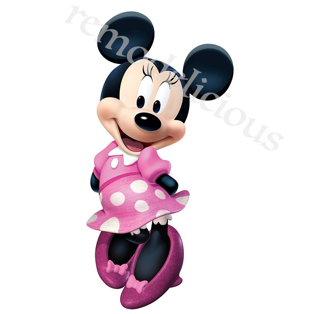 This is a photo of Nifty Printable Minnie Mouse Bow