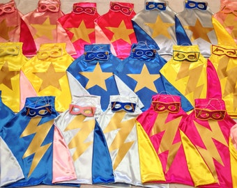 SUMMER FUN PARTY'S Superhero Style Capes many colors to choose from Capes for Boys  Girls Birthday Party Gifts