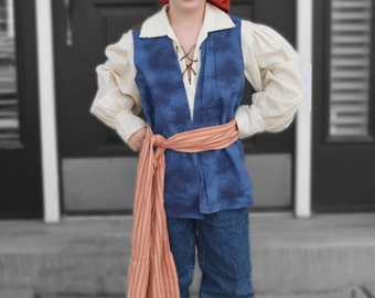 Captain Jack Sparrow Costume, Boys Prirate Costume