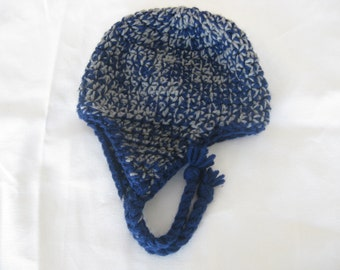 Children's size earflap hat