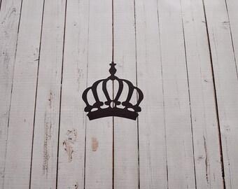 Vinyl Wall Decal King's Crown