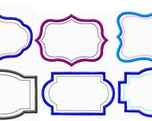 Applique Patterns Whimsical Frame Borders INSTANT DOWNLOAD PES