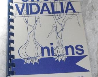 Sweet Vidalia Onions Blue Ribbon Recipes Vintage Cookbook