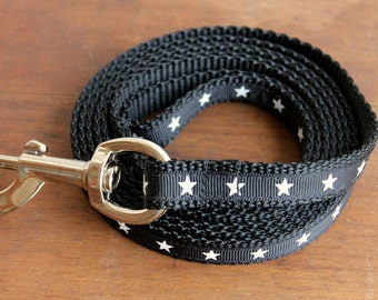 Boy Dog Leash in Stars
