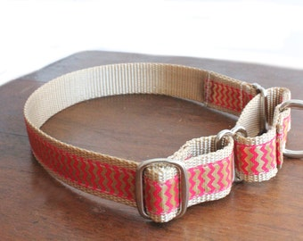 Chevron Martingale Dog Collar