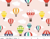 Lazy Day - Balloon Ride PInk by Lori Whitlock from Riley Blake