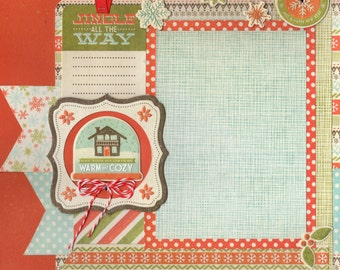 North Pole Christmas 12x12 Scrapbook Page Kit