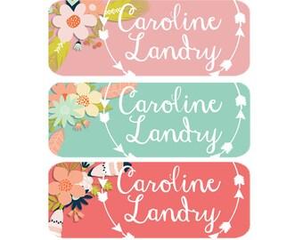 Dishwasher Safe Name Labels, Baby Bottle Labels, Daycare Name Labels, Waterproof Name Labels, Dishwasher Safe, Clothing Name Labels, Girl
