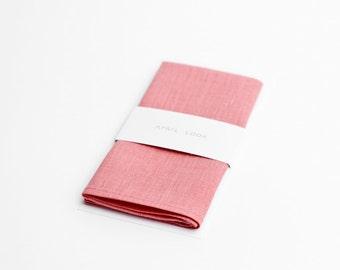Pocket square for men in baby pink