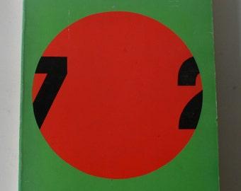 vintage art book, douze ans d'art contemporain en france, exhibition catalog, french language 1972 from Diz Has Neat Stuff