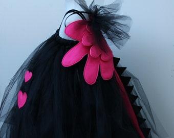 Drangon Princess Dress , Designer Halloween Costume- Dragon Costume, -  Delivery before Halloween 2014