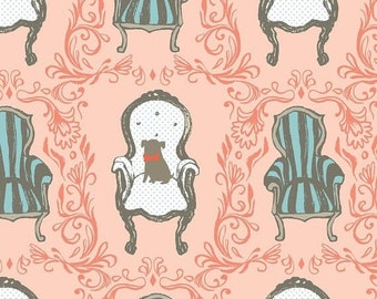 Sara Watts - BLEND fabric - Cushion & Dust, Queen Anne, victorian, chair, dog