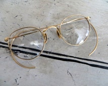 Popular items for wire rimmed glasses on Etsy