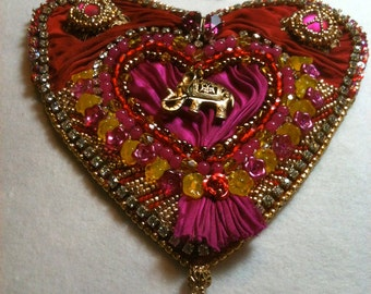 "Moulin Rouge Necklace for Feb. Challenge ""Let the Show Begin!"""