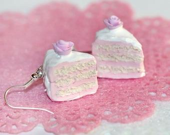 cake earrings pastry earrings kawaii earrings