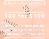 Custom Business Cards Calling Cards