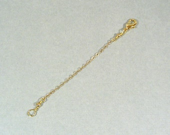 3 Inch Necklace Extender - Gold Plated