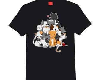 Black Meowntain t-shirt