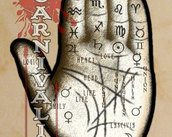 Palmistry Hand Wall Hanging