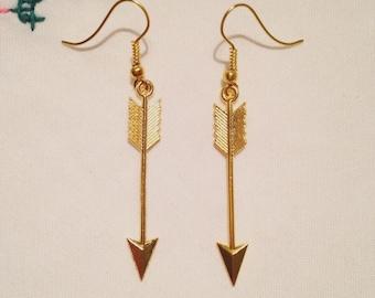 Valentines Arrow earrings