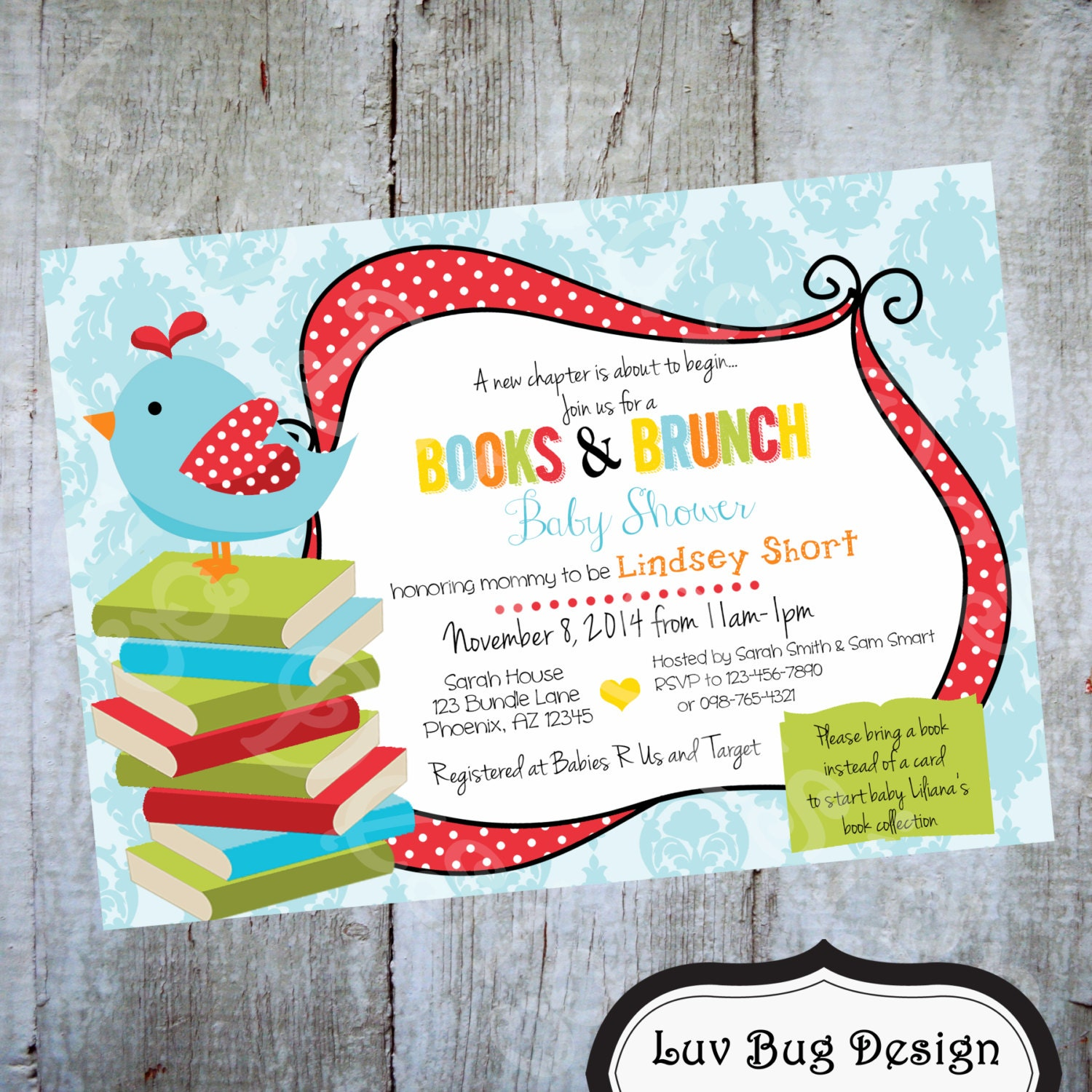 Create A Baby Shower Invitation with beautiful invitations sample