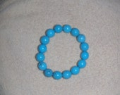 Turquoise Chunky Stretch Bracelet