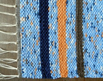 Made to Order Rag Rugs - One Fabric- Hand Woven Rag Rug -