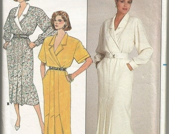 1980s Vintage Sewing Pattern for Women's Dress (Butterick 3623)