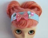 Neo Blythe Headband - Pink Chic