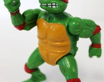 Ninja Turtles Raphael 5 Action Figure Original 1988 Playmates