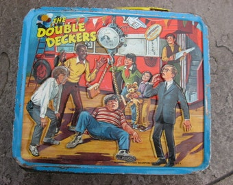 the Double Deckers Lunch box 1970