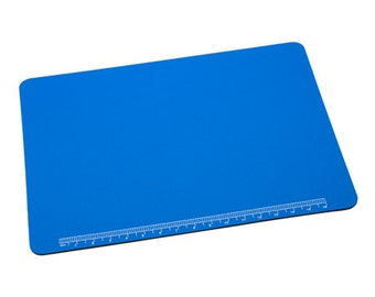 Work Mat Padded - 20X15 Inches - For Jewelry Making Beading and Crafts - Handy Ruler - Metal Working Mat