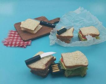 USB Drive in 4Gb Polymer Clay Sandwich