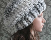 Slouchy Hat Crochet Pattern - Crochet Pattern - Crochet Hat Pattern - Chunky Hat Pattern - Baby, Toddler, Child, Adult Sizes - PDF 408