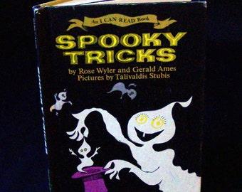 Vintage Halloween Book - Spooky Tricks - 1981