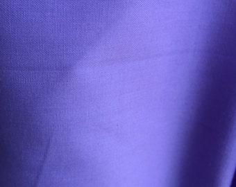 Poly Cotton Fabric Lilac by the yard 236