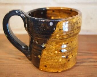 Mug - Gingerbread Brown and Black Speckled