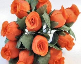 Mini Rosebuds in a Bundle of 12
