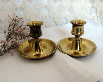 Brass Candle Holders From the 1970's