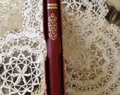 """Vintage Leather Bond """"A Tale Of Two Cities"""" by Charles Dickens Book"""