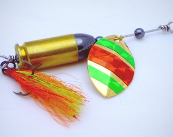 Multi Colored Bullet Fishing Lure
