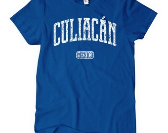 Women's Culiacan Mexico T-shirt - S M L XL 2x - Ladies Culiacan Tee - Mexican - 4 Colors