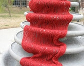 Custom Knit Amy Pond Scarf - RESERVED for sedenergul
